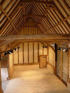 17th century timber framed barn