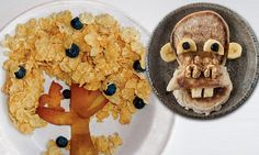 DO play with your food! From cornflake tree to a muffin monkey, hilariously creative twists on breakfast