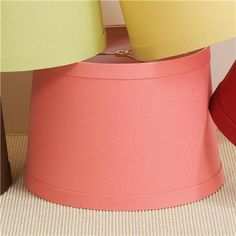 17 Euro Fitter Cotton Duck Table Lamp Shade - Shades of Light
