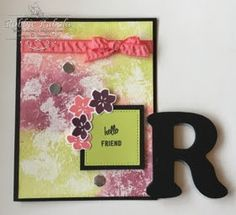 http://inkedx2.blogspot.com/2017/06/sponged-glue.html     Stampin' Up | Stampin' Up cards | | card making ideas | | papercrafts | Card Backgrounds | Card Background Designs | Card Background Techniques | Card Background Patterns |     Tried this technique the other day.  Fun one and easy to do.