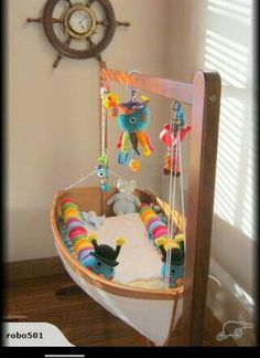 Baby boat bassinet. Handcrafted in New Zealand.