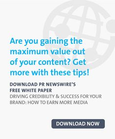 Driving Credibility & Success for Your Brand: How to Earn More Media Pr Newswire, Marketing Professional, White Paper, Content Marketing, Knowledge, Success, Tips, Inbound Marketing, Facts