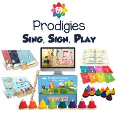 Prodigies is like Netflix, but for kids music lessons! Fire up interactive, educational and colorful music lessons at any time for your kids, students or class! Perfect for families at home, teachers in the classroom, and music studios everywhere! #HappyMusicing