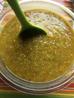 Tomatillo Salsa Recipes | La Piña en la Cocina