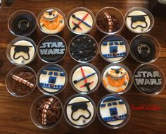 Star Wars theme cupcakes