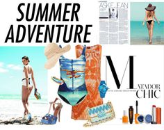 """Summer adventure"" by duchess26 ❤ liked on Polyvore"