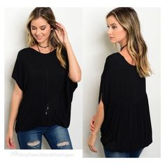 SO, SO CUTE!!😍😍    Very nicely made. Soft jersey knit.     Dolman sleeves. Blouson style/fit.     Perfect piece to add to your wardrobe for spring & summer.     Small fits 4/6.     Medium fits 8/10.     Large fits 12/14.     FREE US Shipping!!💫 | Shop this product here: http://spreesy.com/theglamshackboutique/752 | Shop all of our products at http://spreesy.com/theglamshackboutique    | Pinterest selling powered by Spreesy.com