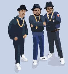 Another example of the Run DMC fashion that will work well when reverse-appropriated for the 1930s.