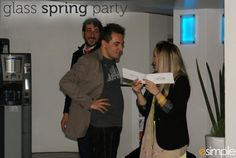 glass spring party