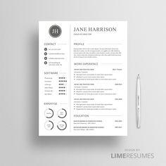 Professional CV Template 25