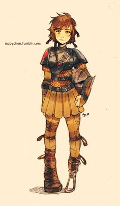 Hiccup- Genderbent Disney characters by mabychan on Deviantart