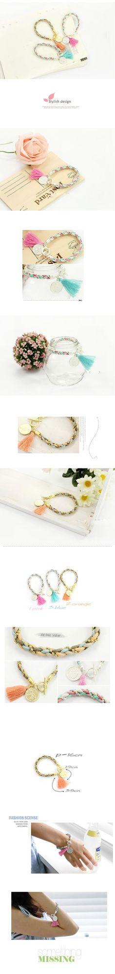 Memorable Red Knitting Wool Alloy Korean Fashion Bracelet,Korean Fashion Bracelet  www.asujewelry.com