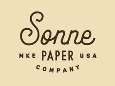 Sonne designed by Keith Davis Young. Connect with them on Dribbble; Cool Typography, Typography Quotes, Typography Logo, Graphic Design Typography, Logo Branding, Types Of Lettering, Hand Lettering, Identity Design, Logo Design