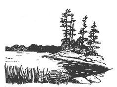 Lake Scenery Clip Art Cliparts