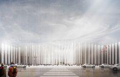 glen j. SANTAYANA / The New Seoul International Train Station