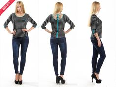 EM1815 Striped top