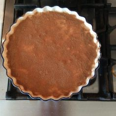 Originating from South Africa this is a traditional milk tart recipe that is relatively easy to make and tastes great if you are looking for something new to try.