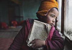"Alessandro Bergamini on Instagram: ""Scuola Tibetana nel monastero."""