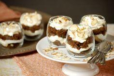 Gingerbread Trifle with Mascarpone-Amaretto Whipped Cream