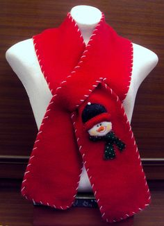$20.000 COP Bufanda navideña hecha en fleese para niños y adultos