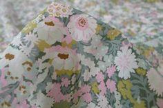 Thorpe Pale Pink -Tana Lawn - Liberty Of London - Tessuti Fabrics - Online Fabric Store - Cotton, Linen, Silk, Bridal & more