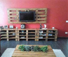 pallet tv lounge idea