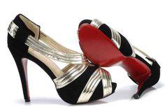 Christian Louboutin Shoes Sandals Zigounette 140 Black