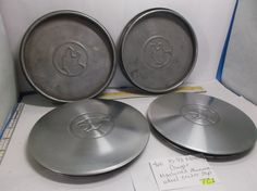 1985-1993 Mercury Cougar Machined Aluminum Wheel Center Cap hub cover 4 pc TC1 #OEMMercury