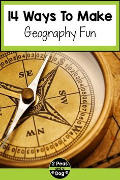 It is not challenging to make geography class fun and engaging if you use some of the ideas in this article. Gone are the days of independently reading the textbook and silently writing the answers in your notebook. Geography classes today thanks to technology and creative teaching strategies can be fun. Use these middle school geography lessons to make your students enjoy your classes from 2 Peas and a Dog. Geography Lesson Plans, Geography Activities, Physical Geography, Middle School Geography, Lesson Plan Binder, Cult Of Pedagogy, Social Studies Curriculum, School Librarian, Lesson Plan Templates
