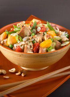 """Het lekkerste recept voor """"Aziatische kipsalade"""" vind je bij njam! Ontdek nu meer dan duizenden smakelijke njam!-recepten voor alledaags kookplezier!"""