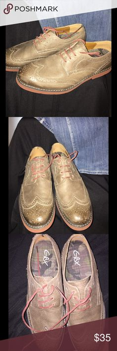 GBX Men's Oxford Classics Tan Leather. Very comfortable Loafers. Hardly worn.  10.5M GBX Shoes Loafers & Slip-Ons
