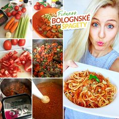 Fitness bolognské špagety - zdravý recept Bajola Spaghetti, Fitness, Healthy Recipes, Ethnic Recipes, Lasagna, Healthy Eating Recipes, Healthy Food Recipes, Clean Eating Recipes, Noodle