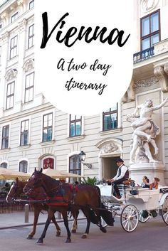 An action packed two day itinerary for beautiful Vienna, with some surprising pit stops. European Destination, European Travel, Europe Travel Guide, Travel Guides, Travelling Tips, Photo Voyage, Hallstatt, Austria Travel, Belle Villa