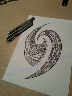 Tattoo #polynesiantattoosdesigns Tongan Tattoo, Marquesan Tattoos, Samoan Tattoo, Thai Tattoo, Forearm Band Tattoos, Body Art Tattoos, Sleeve Tattoos, Samoan Designs, Maori Tattoo Designs