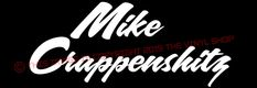 """""""Mike Crappenshitz"""" Funny Impractical Jokers Decal Sticker Joe Gatto phrase #TheVynilShop Impractical Jokers, Funny Decals, Boats, Motorcycles, David, Trucks, Stickers, Ebay, Ships"""
