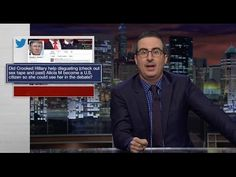 YouTube John Oliver - Miss Universe Weight Gain  (From 10.3.16) Well done, John Oliver!