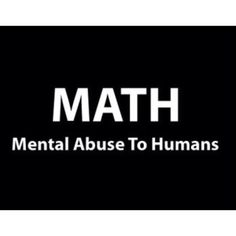 This made me think of math differently..... :) Math is cool I must admit