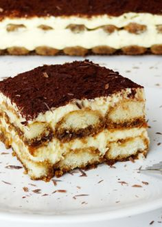 Classic Tiramisu - Life Love and Sugar
