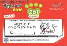 Amici Cucciolotti 2016: Retro Figurina n. 261 Morfeo