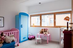 kids room//pink- blue why not...;)