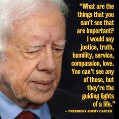 Good tittle for research paper on the life of former president jimmy carter ?