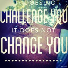 challenge ? change !