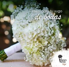 Ideas para tu yugo de bodas!  #hortensias #flores #decoración #diseño #elegancia #floresdelestetogo #floresdeleste