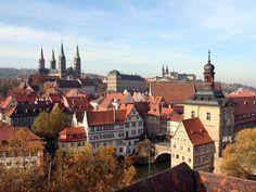 Bamberg, widok na Stare Miasto