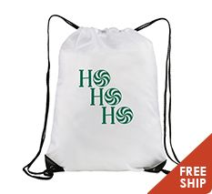 TDB105 - Christmas Holiday Polyester Drawstring Bag 14 inch x18 inch #drawstringbag #holiday