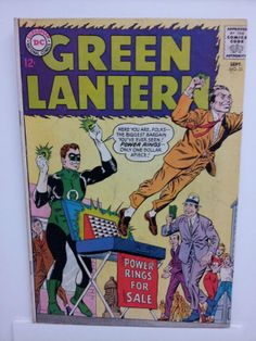 GREEN LANTERN no.31 - 1964 - (4.0) - Silver Age