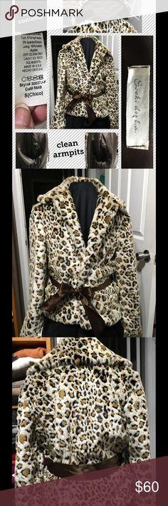 Leopard Print Dinner Jacket Beautiful Sooki des La dinner jacket in leopard print, brown satin-ribbon tie belt, clean, classic & beautiful. It pays to compare:  http://www.modelane.com/leopard-fur-coats-for-women/products-html?nxtg=210d0a50050b-60E0EB08017C6D3D sooki des l.a. Jackets & Coats