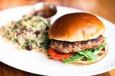Dr. Bob's Turkey Burger at Beatrix  #LettuceEntertainYou #LettuceEats #Beatrix #Chicago #TurkeyBurger #NationalBurgerMonth