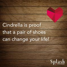 """They say """"Give a girl the right shoes and she can conquer the world!"""" #QuoteOfTheDay"""