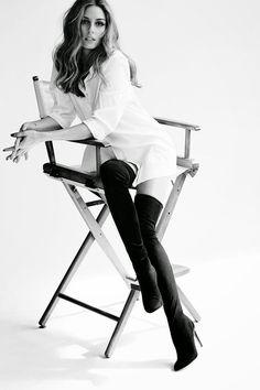 The Olivia Palermo Lookbook : Aquazzura X Olivia Palermo Collection